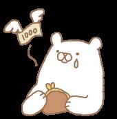 カミソリのデメリットに嘆くクマ