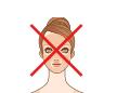 全身脱毛の顔部分を示した表
