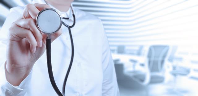 医師の聴診器
