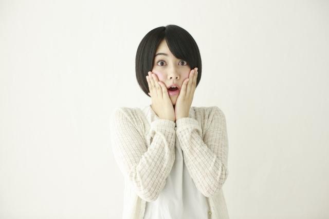 驚く日本人女性3